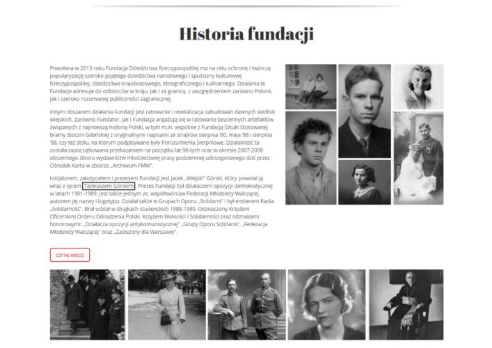 FDRP historia fundacji