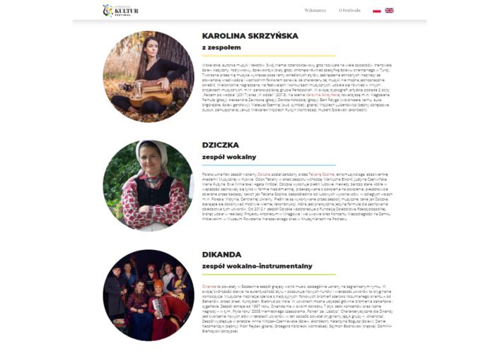 Hybryda Kultur Festiwal wykonawcy